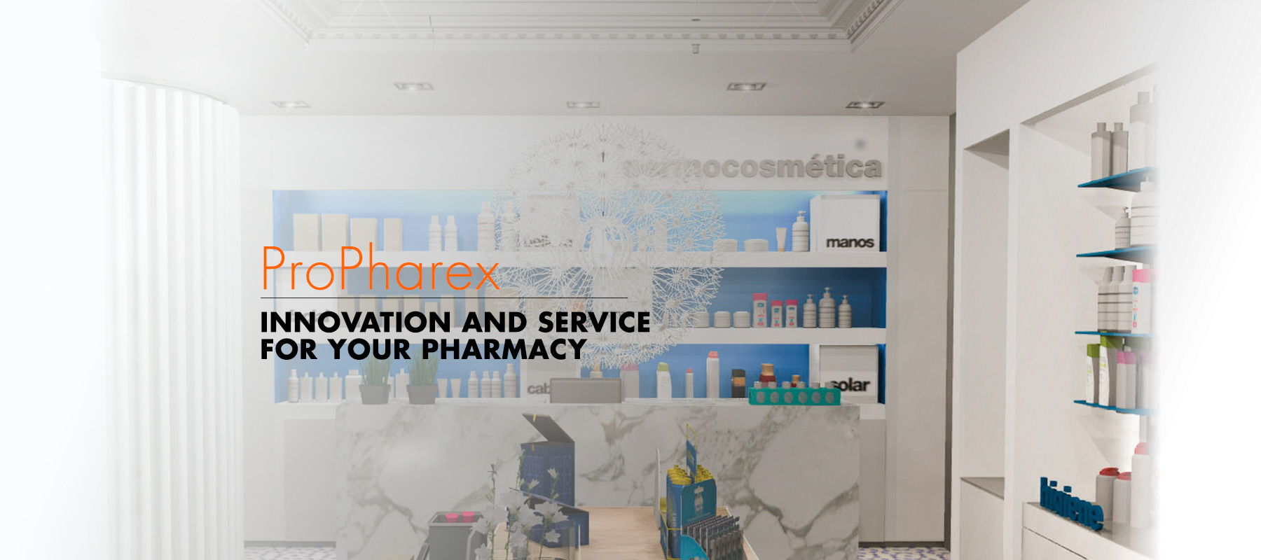 Propharex, innovation and service for your pharmacy